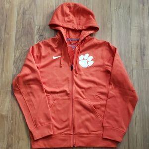 Nike Therma-Fit Clemson Tiger Full Zip Hoodie